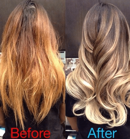 How To Get Rid Of Orange Hair Causes Bleaching Fast Box