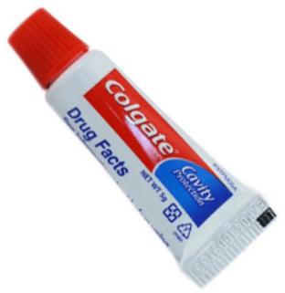 Colgate on pimples