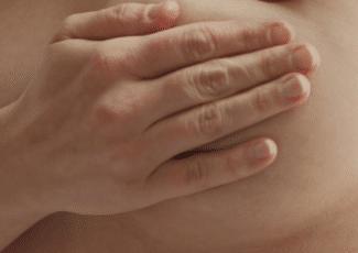 sharp pain in breast